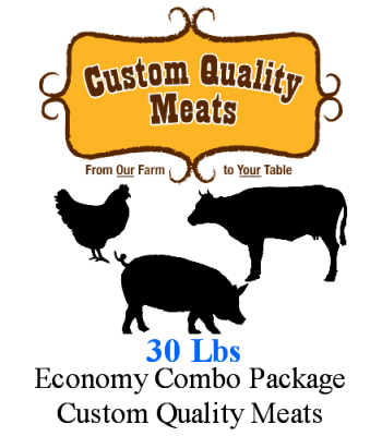 CQmeats Economy Variey Package