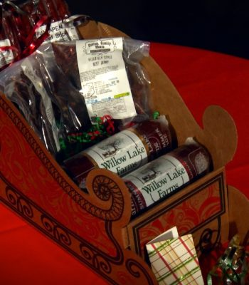 Christmas - Snack Sleigh Gift Package
